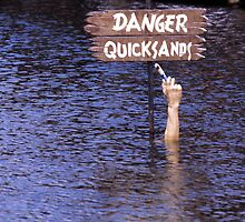 """DANGER QUICKSANDS"" by Raymond Kerr"