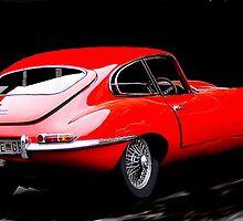 E - Type Jaguar   Year ??? by Tugela