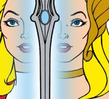 She-Ra Princess of Power - Adora/She-Ra/Sword - Color Sticker
