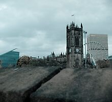 Manchester City Centre Landmarks by Rob Davies