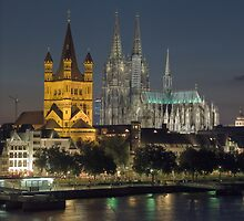 The Cathedral of Köln by Anatoliy