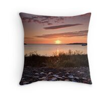 The Shell Game Throw Pillow