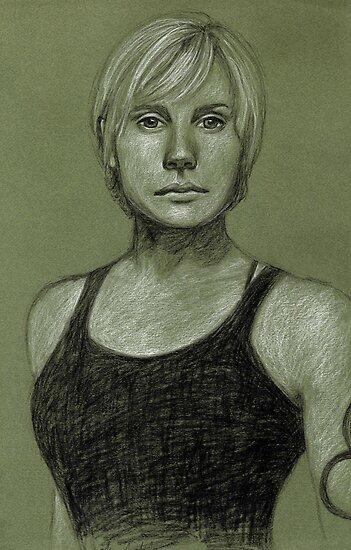 Kara Thrace by Gemma Amendola