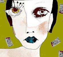 « la fille aux cheveux noirs » by linda vachon