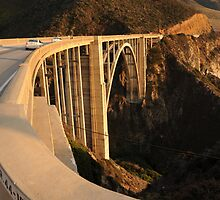 Bixby Bridge by ClaretBadger
