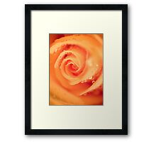 Ice Cream Swirl.  Framed Print