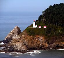 Heceta Head Lighthouse #02 by Chuck Gardner