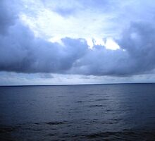 Sea and Clouds by Laurie Puglia