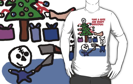 A Cute and Creepy Christmas  by Rajee