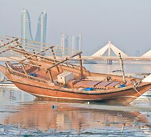 The Arabian Gulf Traditional Boats (Banoosh) by Bucheeri