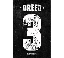 7 Deadly sins - Greed Photographic Print