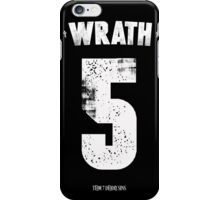 7 Deadly sins - Wrath iPhone Case/Skin