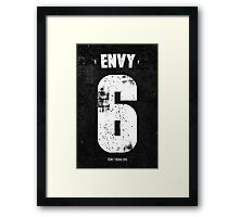 7 Deadly sins - Envy Framed Print