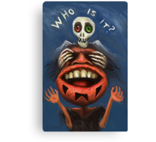Who is it? Canvas Print