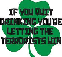 Irish Drinking Shirt by secrest