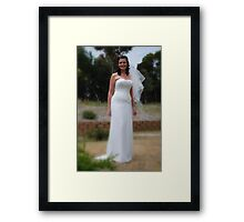 Alicia Wedding 2 Framed Print