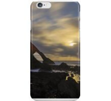 Moonlight over Bow Fiddle Rock iPhone Case/Skin