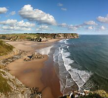 Three Cliffs Bay by Anthony Thomas