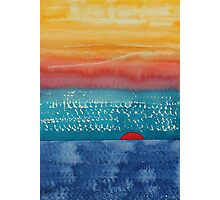A New Day Dawns original painting Photographic Print