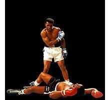 """Falling Lessons"" Ali VS Liston 2, Earth Fists Photographic Print"