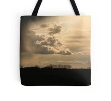 There IS a silver lining behind every cloud! Tote Bag