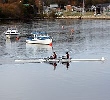 Rowing by HALIFAXPHOTO