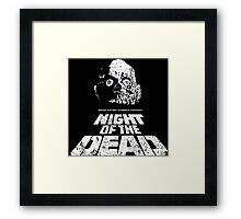 NIGHT OF THE DEAD Framed Print