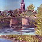 Fredericton Walking Trail Bridge by artattic