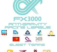 WipEout - FX3000 League by Alex Pringle
