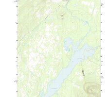 Maine USGS Historical Map Indian Pond North 20110831 TM by wetdryvac