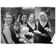 Alicia & Bridesmaids Poster