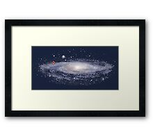 You're Here! Framed Print