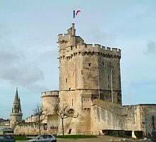 Three Towers of La Roshelle by Anatoliy