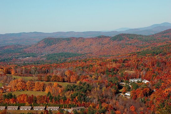 October Sunday in New Hampshire by Roslyn Lunetta