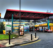 Regent Centre Metro Station by Andrew Pounder