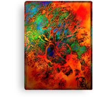 Tree of Life- Silk print Canvas Print