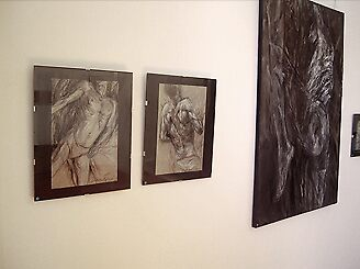 "snap shot from ""Bodies"" expo at Geraldes da SilvaGallery, Porto, Portugal by blissa"