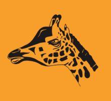 Giraffe by Melanie Deroon