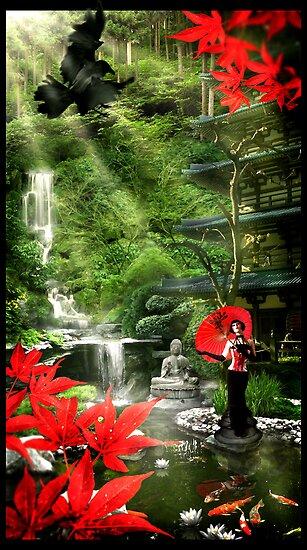 Geisha Garden by Cliff Vestergaard