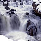 Winter River by Judson Joyce