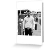Mr Grey. Greeting Card