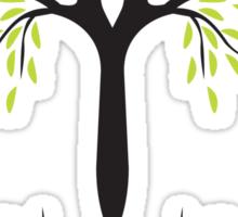 tee tree T-shirt  Sticker