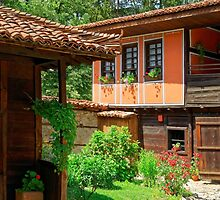 Traditional house in Koprivshtitsa, Bulgaria by atomov