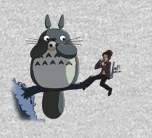 Totoro and the Doctor's Midnight Musicale Kids Clothes