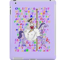 It's Mary That We Love iPad Case/Skin