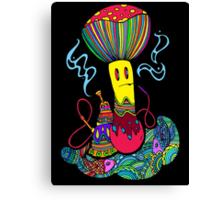 Hooka & Mushroom Canvas Print
