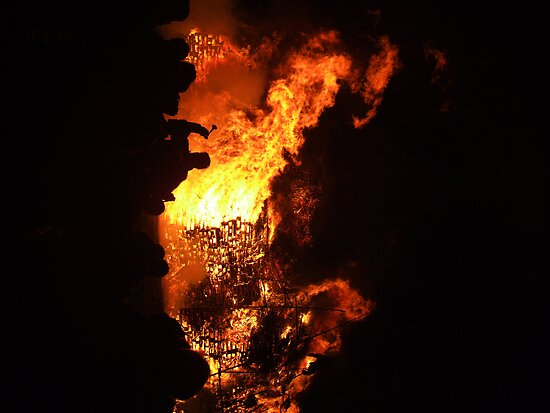 Ripley Bonfire Night 2008 by Paul Revans