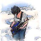 Air Guitar I by Robert O'Neill