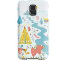 Papa Bear Goes Camping - Red Samsung Galaxy Case/Skin