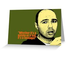 Karl Pilkington Greeting Card